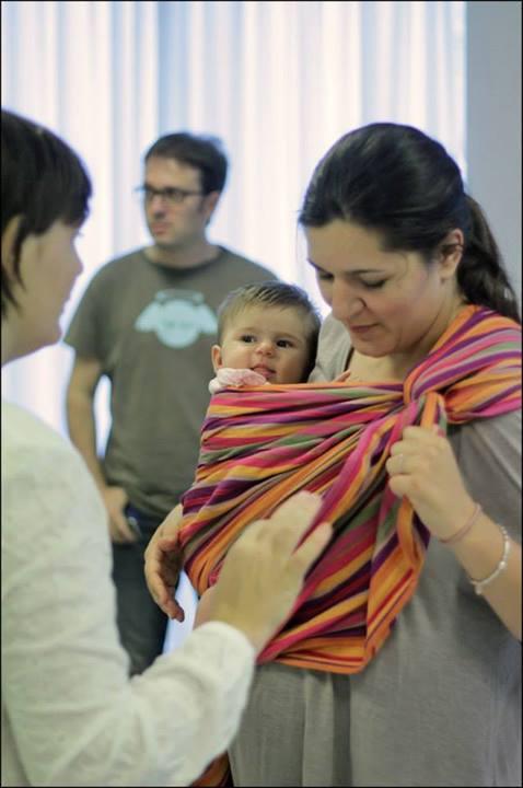 Portare i bambini fin da dentro il pancione handmade - Portare bambini ...